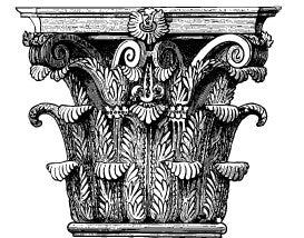 Acanthus leaves - What does it mean as decoration in architecture?