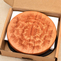 FLUFF Wood Wireless Phone Charger 10W QI Charging Pad Custom Engraved