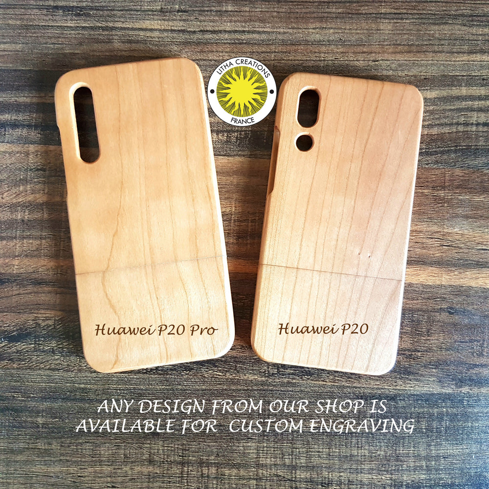 Custom Order Wood Phone Cases for Huawei P20 and Huawei P20 Pro