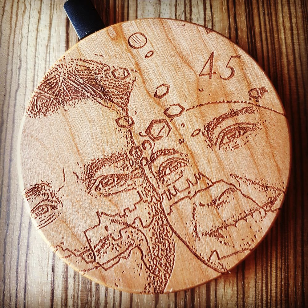 Photo Engraving on Wood Wireless Phone Charger 10W QI Charging Pad Custom Order