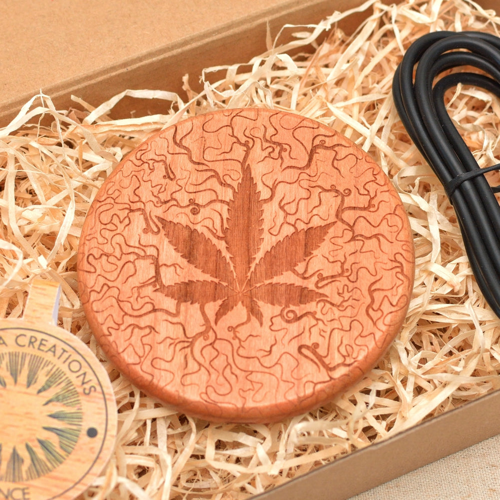 WEED Wood Wireless QI Charging Pad