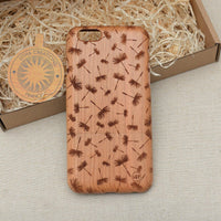 Floral DAYDREAMING Wood Phone Case - litha-creations-france