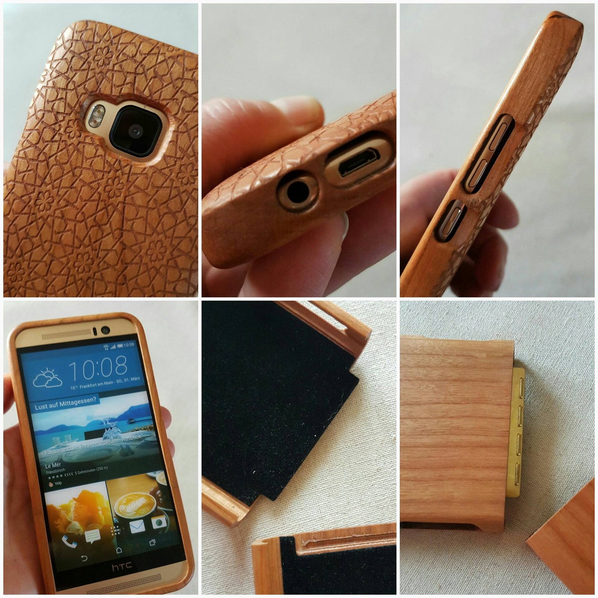 Science | Art MUSIC Wood Phone Case