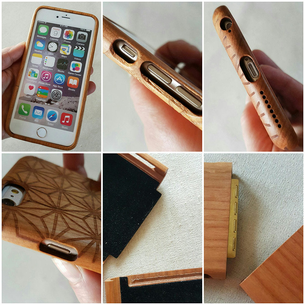 Psychedelic DREAM Wood Phone Case