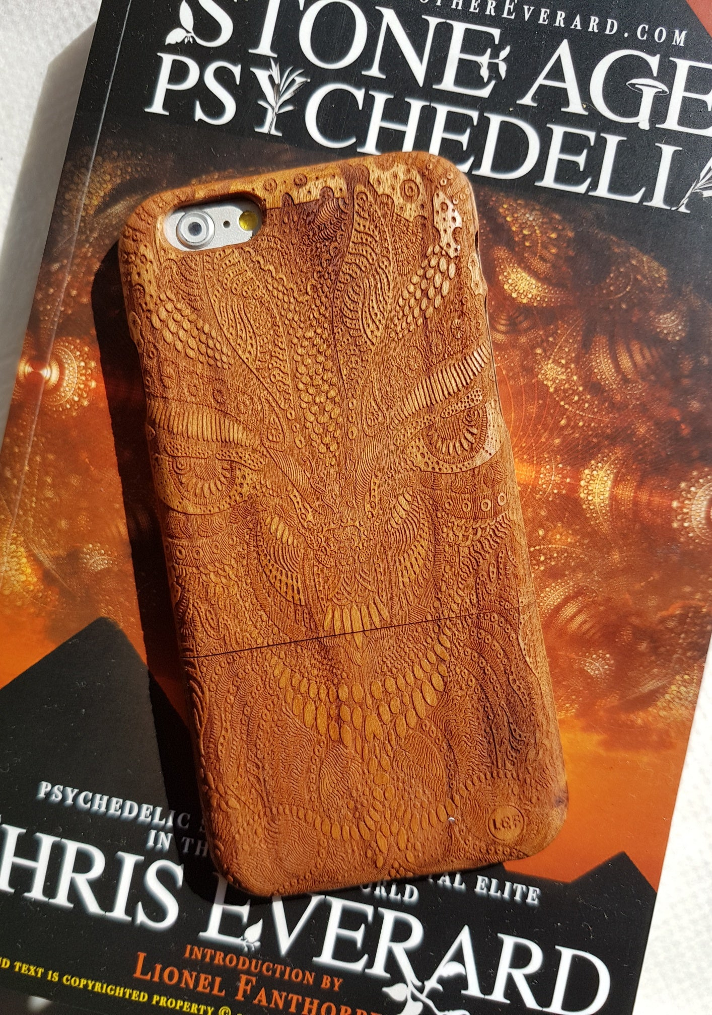 Psychedelic Wood Phone Case AMAZON TRIP