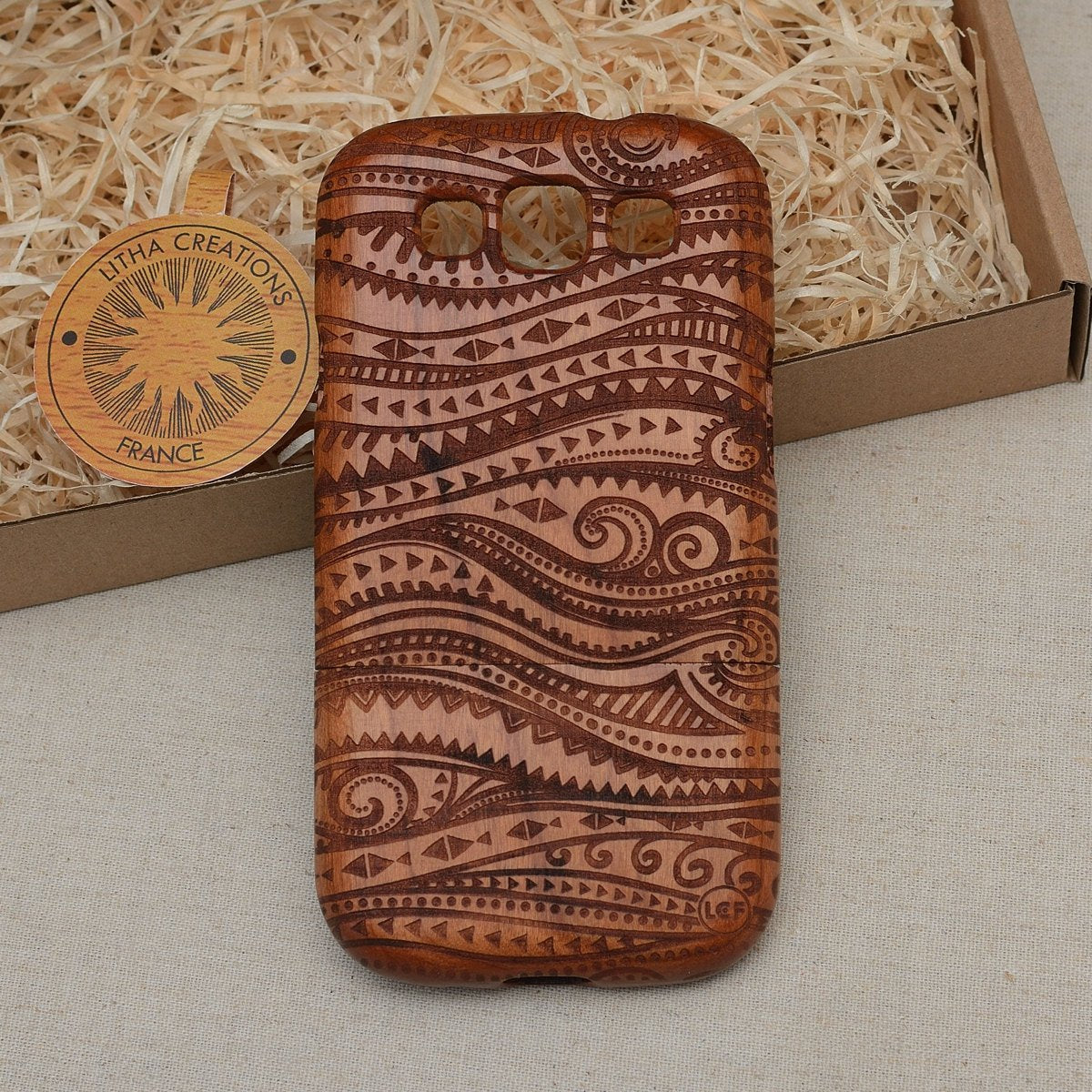 Psychedelic Wood Phone Case WAVY