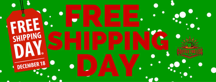 Free Shipping Day is Friday, December 18