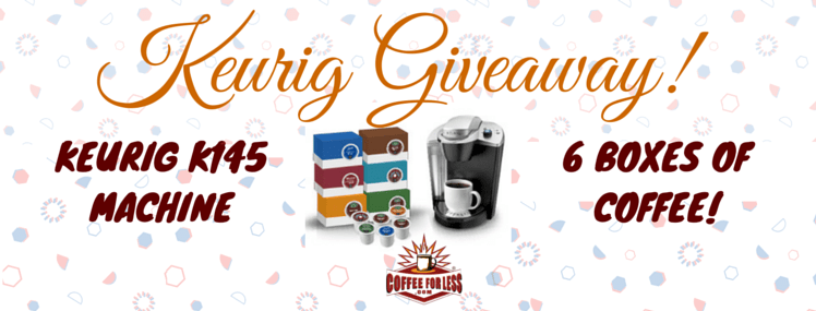 New Year, New Brew Giveaway: Keurig K145 with 6 Boxes of Coffee!