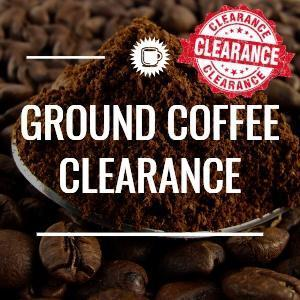 Ground Coffee Clearance