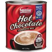 Nescafe Hot Chocolate
