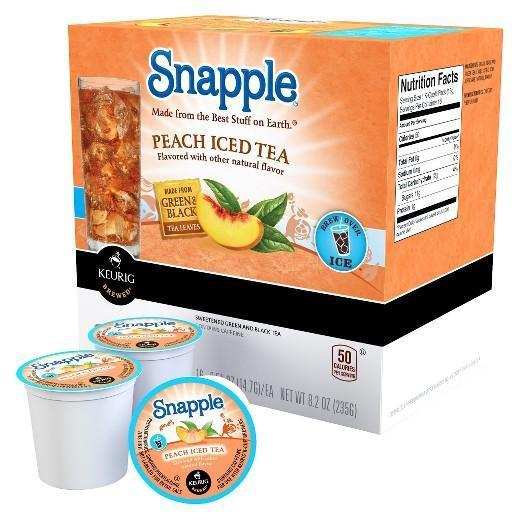 Snapple Tea K-Cup® Pods