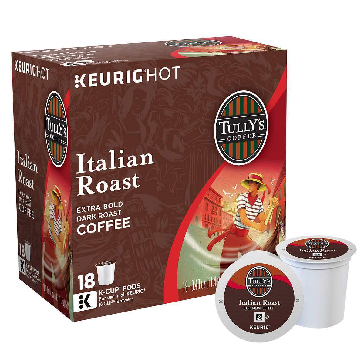 Tully's Coffee K-Cup® Pods