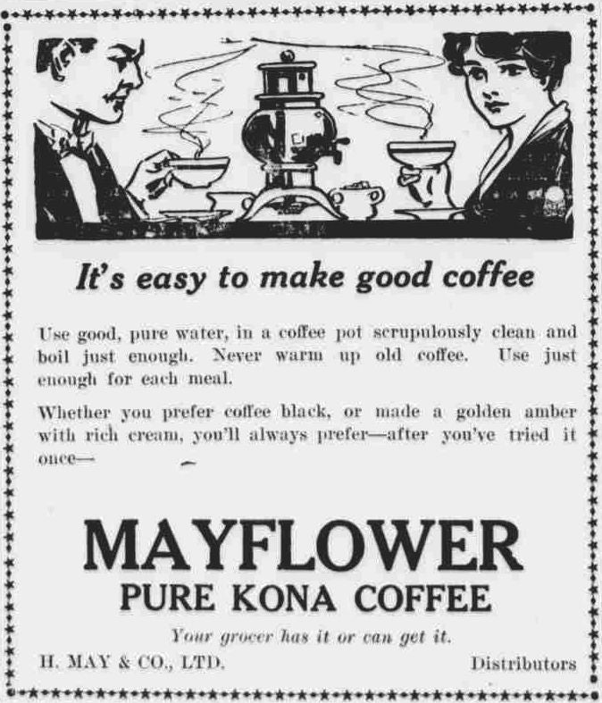 Mayflower Kona Coffee