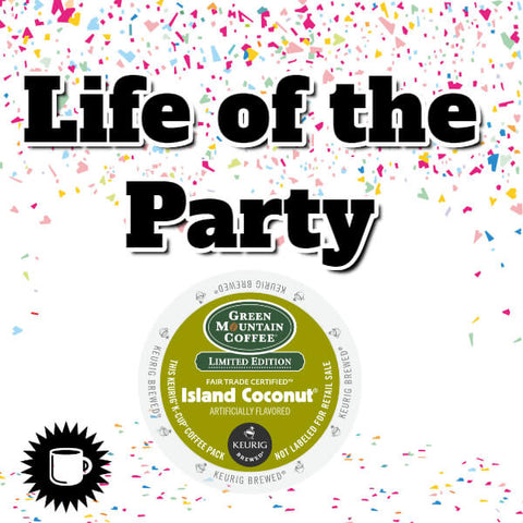 Island Coconut K Cup Coffee