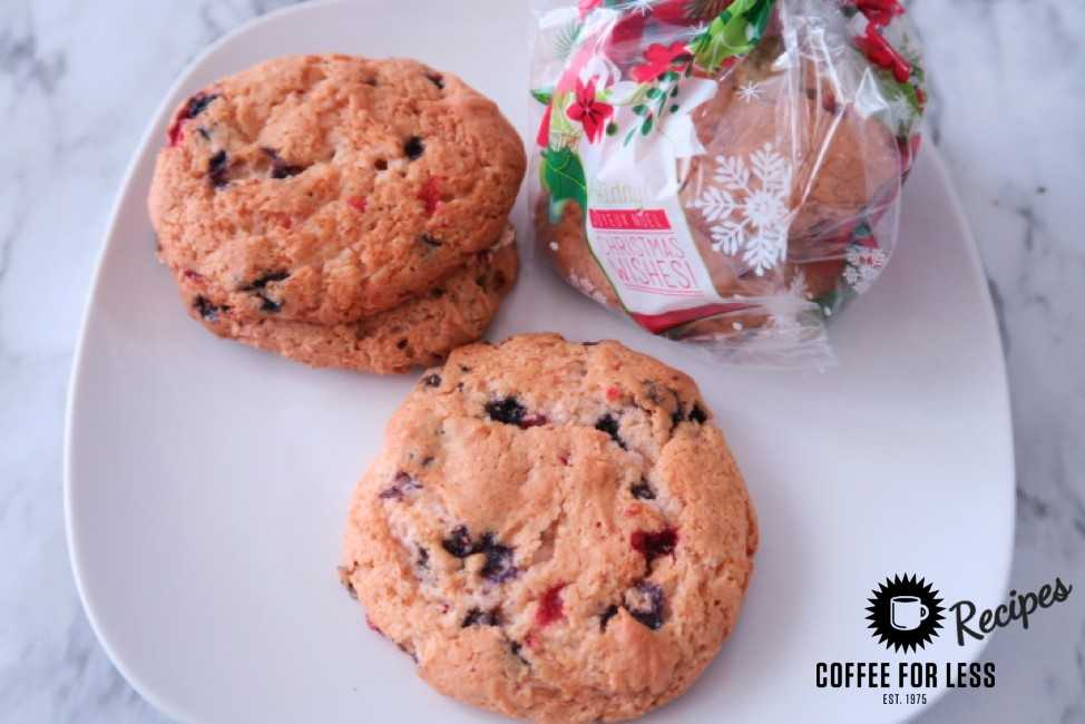 Merry Berry cookie recipe with Starbucks Coffee