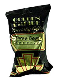 Golden Empire Three Bean Reserve Coffee 20 2.5oz Bags