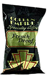 Golden Empire French Roast Decaffeinated Coffee 20 2.5oz Bags
