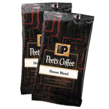 Peet's Coffee House Blend Ground 18 2.5 oz. Bags