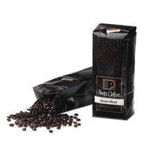 Peet's Coffee House Blend Whole Bean 1 lb Bag