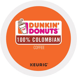 Dunkin' Donuts 100% Colombian Coffee K-cup Pods 24ct