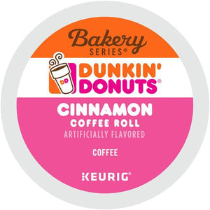 Dunkin' Donuts Cinnamon Coffee Roll K-cup Pods 24ct
