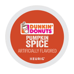 Dunkin' Donuts Pumpkin Spice Coffee K-cup Pods 24ct