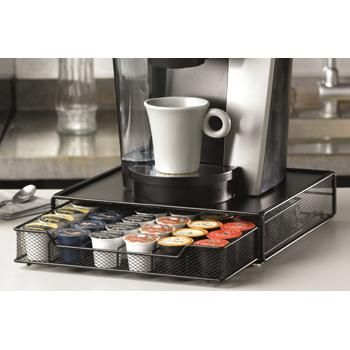36 K-Cup Single Drawer K-Cup Storage with Background