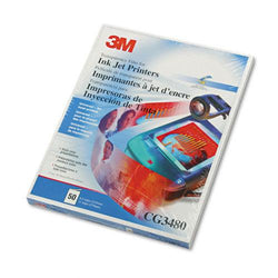 3M Clear Transparency Film Letter Size for Inkjet Printers 50ct Box