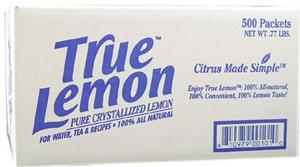 True Lemon Crystallized Lemon Substitute 500ct