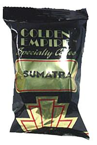 Golden Empire Sumatra Blend Coffee 20 2.5oz Bags