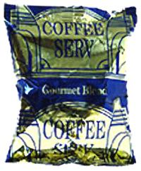 Coffee Serv Gourmet Blue Ground Coffee 80 1.5oz Bags