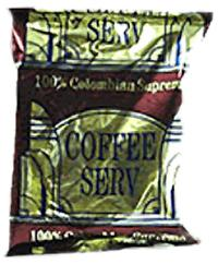 Coffee Serv Colombian Red Ground Coffee 80 1.5oz Bags