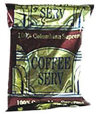 Coffee Serv Colombian Red Ground Coffee 80 2oz Bags