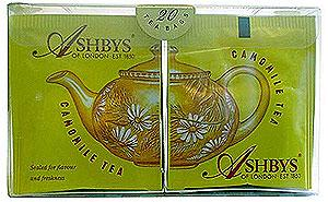Ashby's Caffeine Free Chamomile Herbal Tea 25ct
