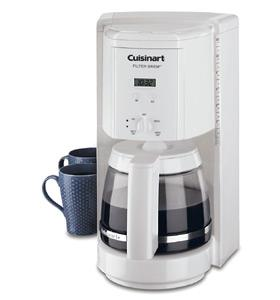 Cuisinart DCC-1000 Programmable Filter Brew 12-cup Coffee Maker White