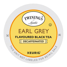Twinings Earl Grey Decaf Tea K-Cups 24ct