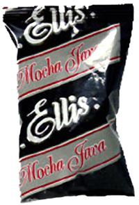 Ellis Mocha Java Ground Coffee 96 2.5oz Bags