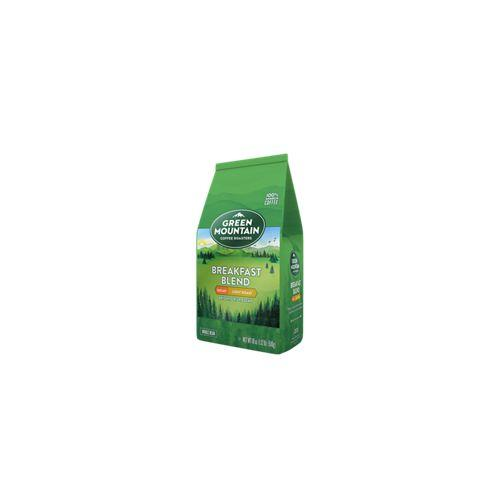 Green Mountain Coffee DECAF Breakfast Blend Whole Bean 18oz Bag