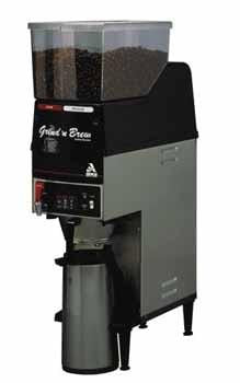 Grindmaster Grind'n Brew 20 Dual Bean Airpot Coffee Machine