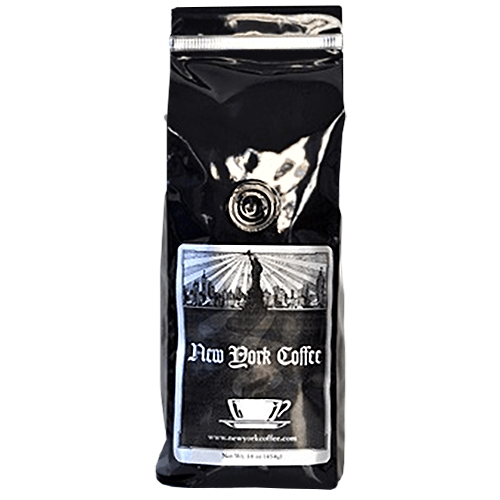 New York Coffee Caramelized Chocolate SWP Decaf Ground Coffee 5lb Bag