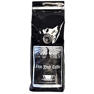 New York Coffee Jamaican Rum SWP Decaf Ground Coffee 5lb Bag