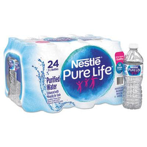 Nestle Pure Life Purified Water 16.9oz Bottles 24ct