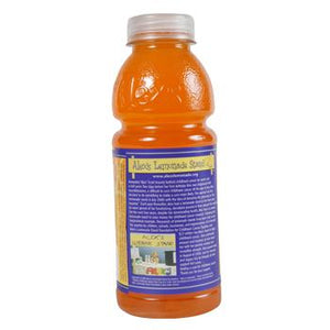 Alex's Orangeade 24 20oz Bottles Back