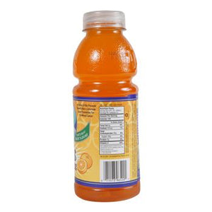 Alex's Orangeade 24 20oz Bottles Side