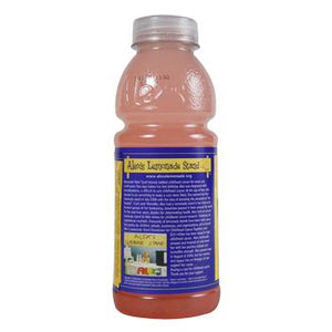 Alex's Pink Lemonade 24 20oz Bottles Back
