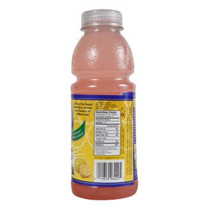 Alex's Pink Lemonade 24 20oz Bottles Side