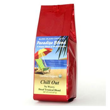 Chill Out SWP Decaf Ground Coffee
