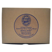Aloha Island Kona Breakfast Blend Coffee Pods 36ct Box Back