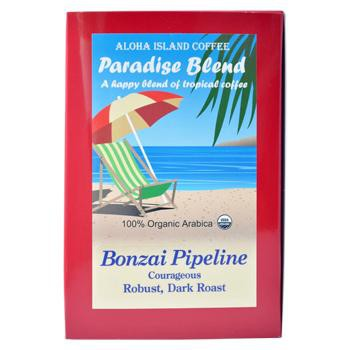 Aloha Island Bonzai Pipeline Dark Roast Coffee Pods 24ct