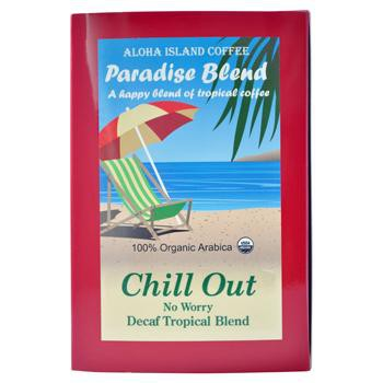 Aloha Island Chill Out Decaffeinated Medium Dark Roast Coffee Pods 18ct